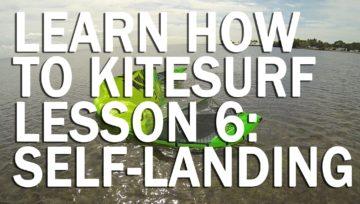 Lesson 6: 2 Ways To Self-Land Your Kite