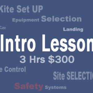 Intro 3 hr Kite Lesson
