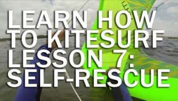 Lesson 7: How To Self-Rescue Using Your Kite