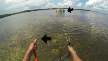 Lesson 8:Hot Launch Your Kite In Light Wind