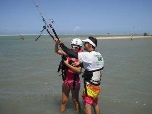 Is kitesurfing hard? 7 tips-learn in shallow water